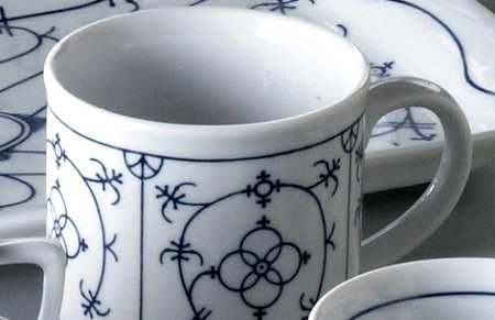 Porzellan Kaffeebecher